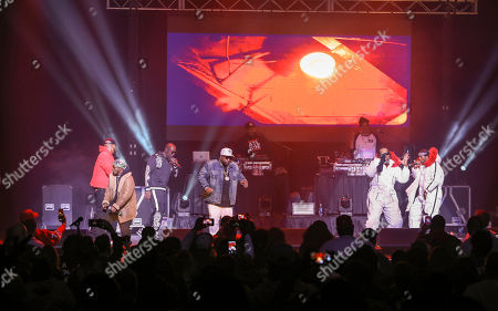 Big Boi performs during the Dungeon Family Reunion Tour 2019 at The Fox Theatre, in Atlanta