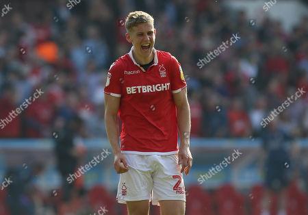 Nottingham Forest's Ryan Yates celebrates victory