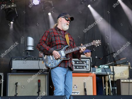 Jimmy Herring with Widespread Panic performs during the 2019 SweetWater 420 Fest at Centennial Olympic Park, in Atlanta