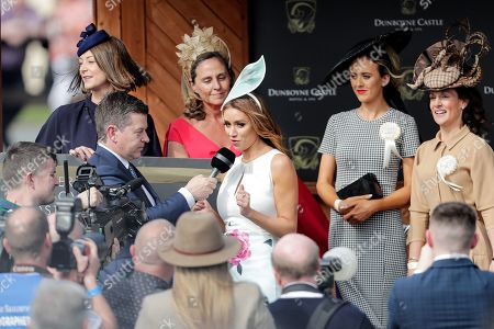 Una Healy, Judge for the Dunboyne Castle Most Stylish Lady competition