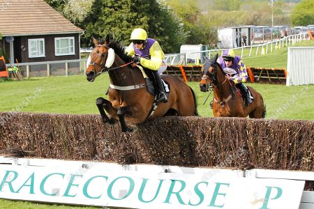 Mercian Prince and Jack Quinlan win the William Hill Sussex Champion Chase at Plumpton from Romain De Senam.