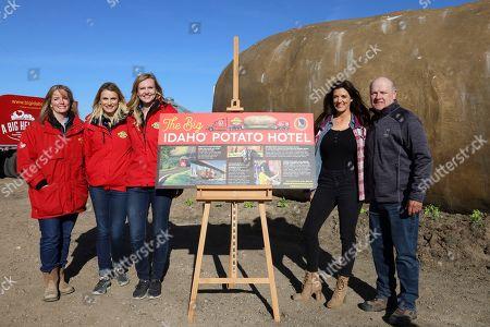 Editorial photo of 2019 Big Idaho Potato Truck Tour Kick Off, Boise, USA - 20 Apr 2019