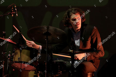 Swedish drummer Kris Montgomery performs during the eighth edition of the Amman Jazz Festival, in Amman, Jordan, 22 April 2019. The Amman Jazz Festival gathers local and international jazz musicians. Its eighth edition takes place form the 19 to the 25 April.