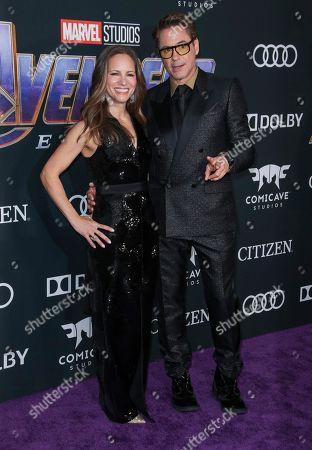 Susan Downey and Robert Downey Jr