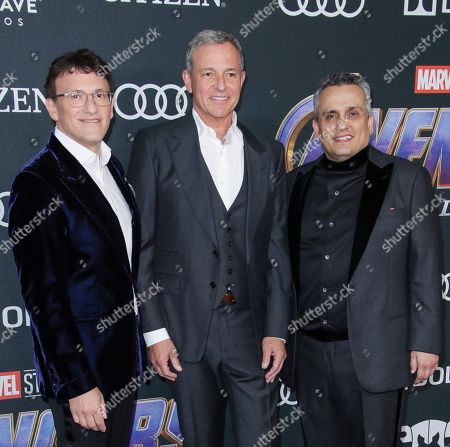 Anthony Russo, Robert Iger and Joe Russo