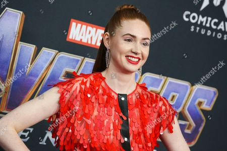 Editorial image of 'Avengers: Endgame' Film Premiere, Arrivals, LA Convention Center, Los Angeles, USA - 22 Apr 2019