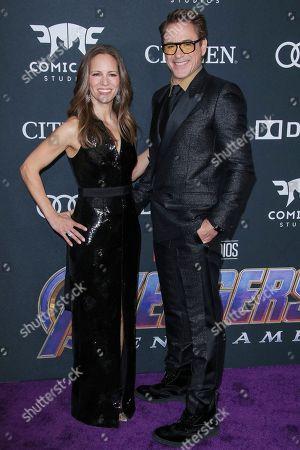 Robert Downey Jr. and Susan Downey