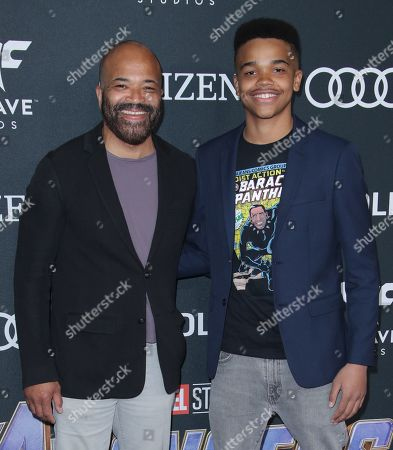 Jeffrey Wright and Elijah Wright