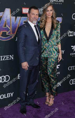Josh Brolin and wife Kathryn Boyd