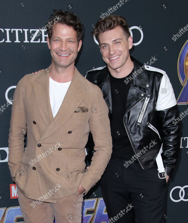 Stock Picture of Nate Berkus and Jeremiah Brent