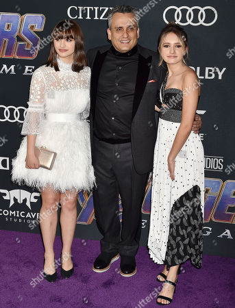 Ava Russo, Joe Russo and Lila Russo