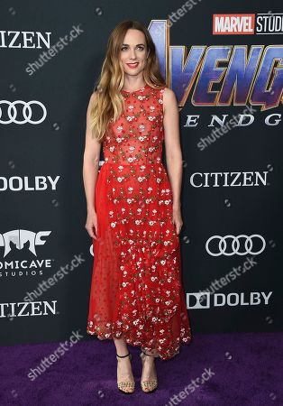 """Kerry Condon arrives at the premiere of """"Avengers: Endgame"""" at the Los Angeles Convention Center on"""