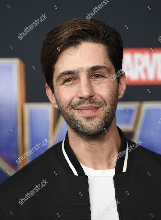 "Josh Peck arrives at the premiere of ""Avengers: Endgame"" at the Los Angeles Convention Center on"