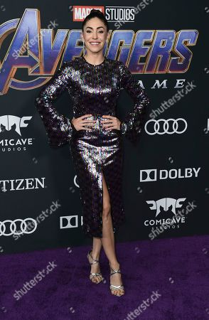 """Natalia Cordova-Buckley arrives at the premiere of """"Avengers: Endgame"""" at the Los Angeles Convention Center on"""