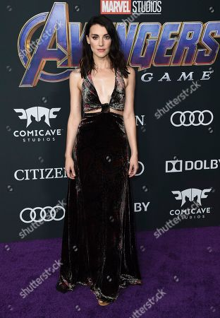 "Editorial picture of LA Premiere of ""Avengers: Endgame"" - Arrivals, Los Angeles, USA - 22 Apr 2019"