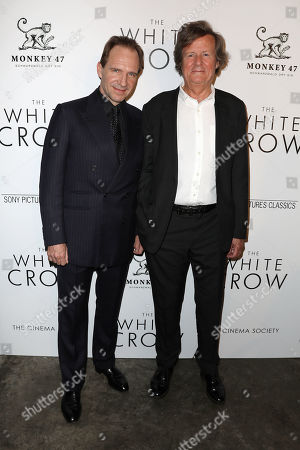 Ralph Fiennes (Director) and David Hare (Writer)