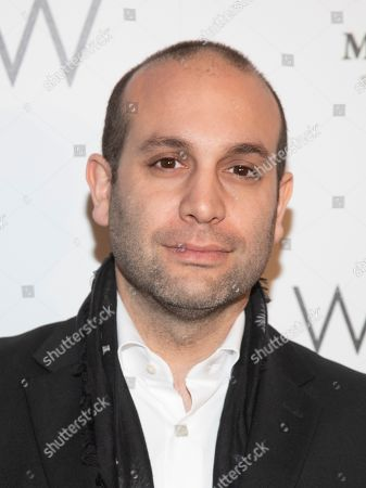 "Stock Image of Ilan Eshkeri attends a special screening of ""The White Crow"", hosted by The Cinema Society,, in New York"