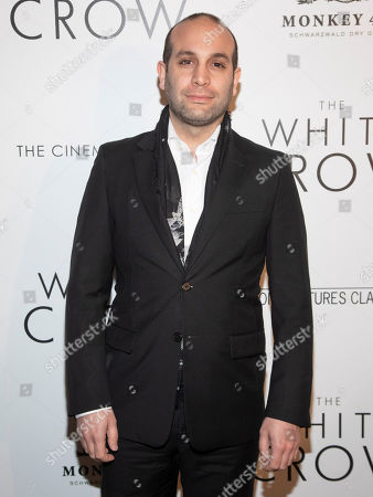 "Stock Photo of Ilan Eshkeri attends a special screening of ""The White Crow"", hosted by The Cinema Society,, in New York"
