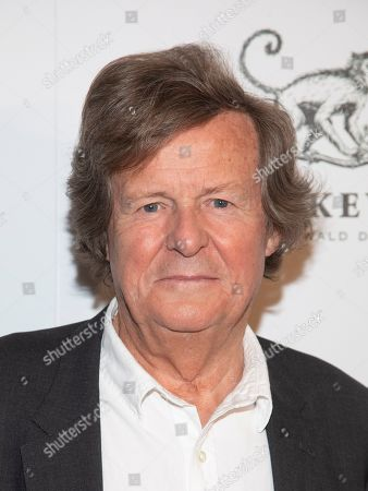 """David Hare attends a special screening of """"The White Crow"""", hosted by The Cinema Society,, in New York"""