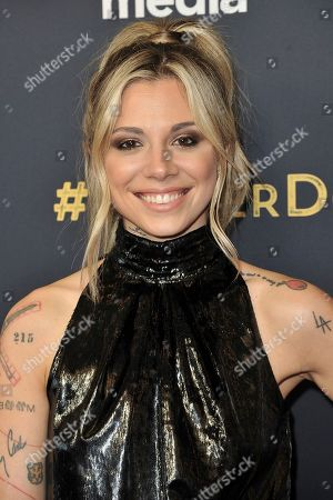 """Christina Perri attends the LA premiere of """"Foster"""" at Linwood Dunn Theater, in Los Angeles"""
