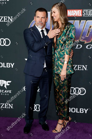 Editorial image of Avengers: Endgame movie premiere - Arrivals, Los Angeles, USA - 22 Apr 2019