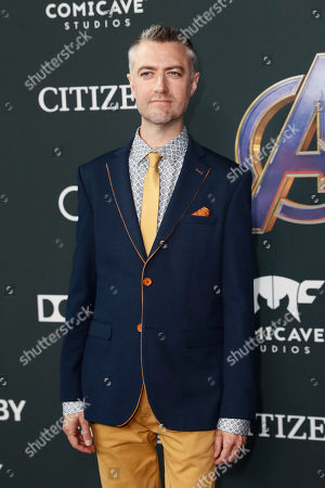 Sean Gunn poses for photographers upon his arrival for the premiere of 'Avengers: Endgame' at the LA Convention Center in Los Angeles, California, USA, 22 April 2019. 'Avengers: Endgame' will be released US theaters on 26 April.
