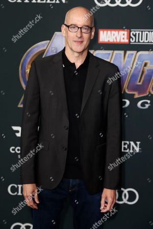 Peyton Reed poses for photographers upon his arrival for the premiere of 'Avengers: Endgame' at the LA Convention Center in Los Angeles, California, USA, 22 April 2019. 'Avengers: Endgame' will be released US theaters on 26 April.