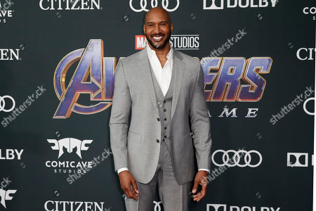 Henry Simmons poses for photographers upon his arrival for the premiere of 'Avengers: Endgame' at the LA Convention Center in Los Angeles, California, USA, 22 April 2019. 'Avengers: Endgame' will be released US theaters on 26 April.