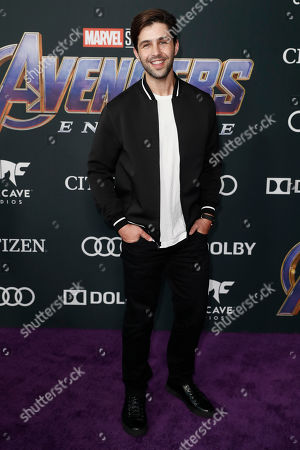 Josh Peck poses for photographers upon his arrival for the premiere of 'Avengers: Endgame' at the LA Convention Center in Los Angeles, California, USA, 22 April 2019. 'Avengers: Endgame' will be released US theaters on 26 April.