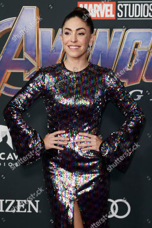 Natalia Cordova-Buckley poses for photographers upon her arrival for the premiere of 'Avengers: Endgame' at the LA Convention Center in Los Angeles, California, USA, 22 April 2019. 'Avengers: Endgame' will be released US theaters on 26 April.