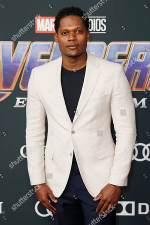Algenis Perez Soto poses for the photographers upon his arrival for the premiere of 'Avengers: Endgame' at the LA Convention Center in Los Angeles, California, USA, 22 April 2019. 'Avengers: Endgame' will be released in US theaters on April 26.