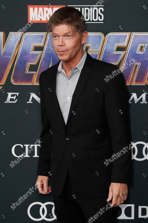 US comic book creator Rob Liefeld poses for the photographers upon his arrival for the premiere of 'Avengers: Endgame' at the LA Convention Center in Los Angeles, California, USA, 22 April 2019. 'Avengers: Endgame' will be released in US theater on April 26.