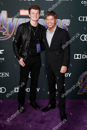 Editorial photo of Avengers: Endgame movie premiere - Arrivals, Los Angeles, USA - 22 Apr 2019