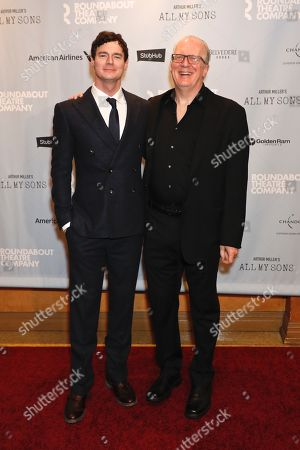 Benjamin Walker and Tracy Letts