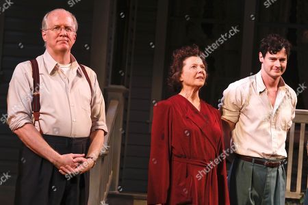 Tracy Letts, Annette Bening and Benjamin Walker