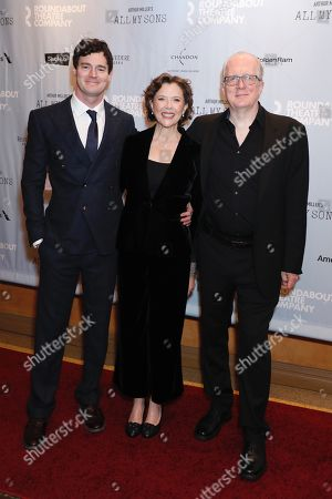Benjamin Walker, Annette Bening and Tracy Letts