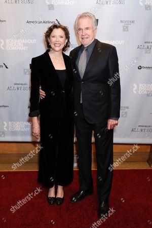 Annette Bening and Warren Beatty