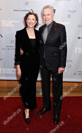 Annette Bening and Warren Beatty