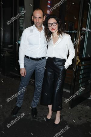 Andrew Rothenberg and Katrina Lenk