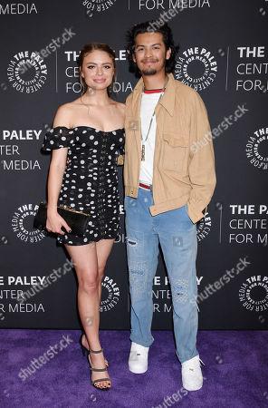 Hannah Kepple and Xolo Mariduena