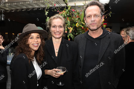 Rosie Perez, Alexis Bloom and Dean Winters