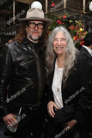 Stock Image of Steven Sebring and Patti Smith