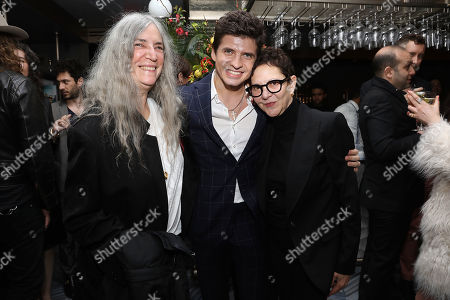 Stock Picture of Patti Smith, Oleg Ivenko and Gabrielle Tana (Producer)