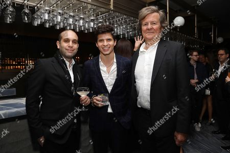 "Editorial image of The Cinema Society Hosts a Special Screening of Sony Pictures Classics' ""THE WHITE CROW"" - Afterparty, New York, USA - 22 Apr 2019"