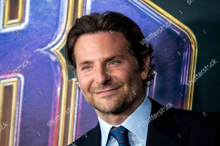 Bradley Cooper poses for photographers upon his arrival for the premiere of 'Avengers: Endgame' at the LA Convention Center in Los Angeles, California, USA, 22 April 2019. 'Avengers: Endgame' will be released in US theaters on 26 April.