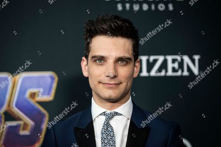 Jeff Ward poses for photographers upon his arrival for the premiere of 'Avengers: Endgame' at the LA Convention Center in Los Angeles, California, USA, 22 April 2019. 'Avengers: Endgame' will be released in US theaters on 26 April.