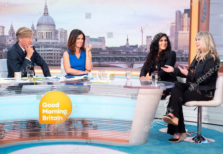 Richard Madeley and Susanna Reid with Vicki Psarias and Janey Lee Grace