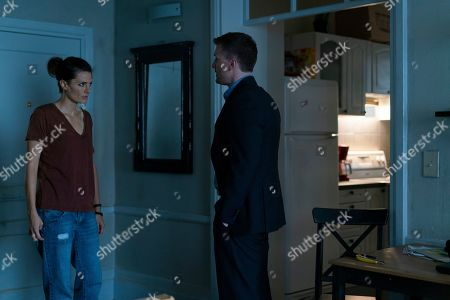 Stock Photo of Stana Katic as Emily Byrne and Patrick Heusinger as Nick Durand