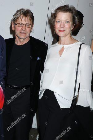 Stock Picture of Mikhail Baryshnikov and Lisa Rinehart