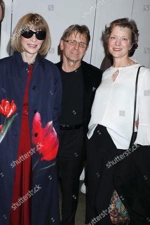 Anna Wintour, Mikhail Baryshnikov and Lisa Rinehart